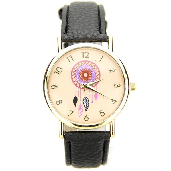 Belle montre femme pas cher dreamcatcher bracelet cuir PU c370ca6ec22