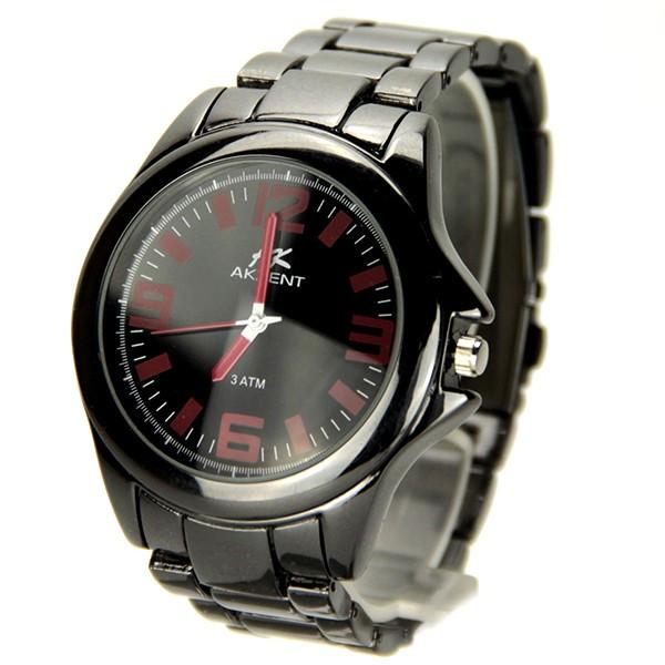 Grosse montre homme bracelet acier